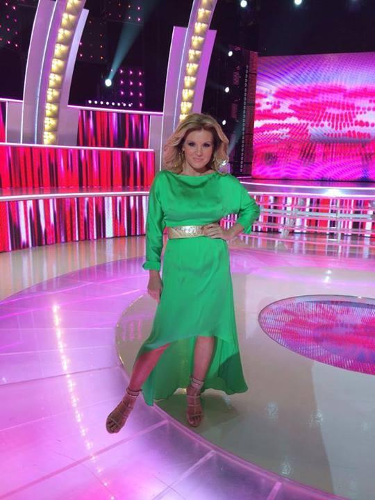 Liptai Claudia divatba hozza a zöldet