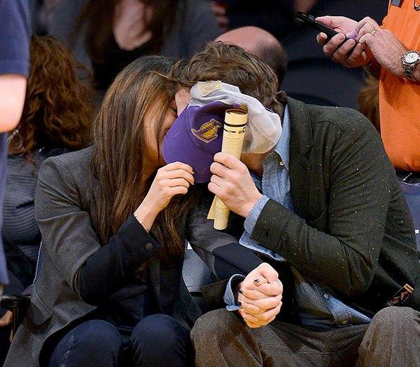 A legnagyobb sztárok eset a csókkamerával