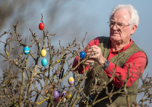 Alakul a húsvéti dekor - Fotó: MTI
