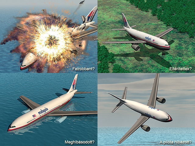 Hova tűnhet el egy Boeing 777-es? - Íme, a magyarázatok