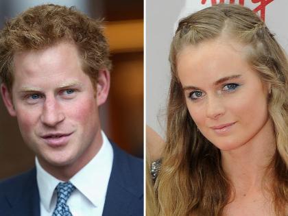 Harry herceget kikosarazta a barátnője