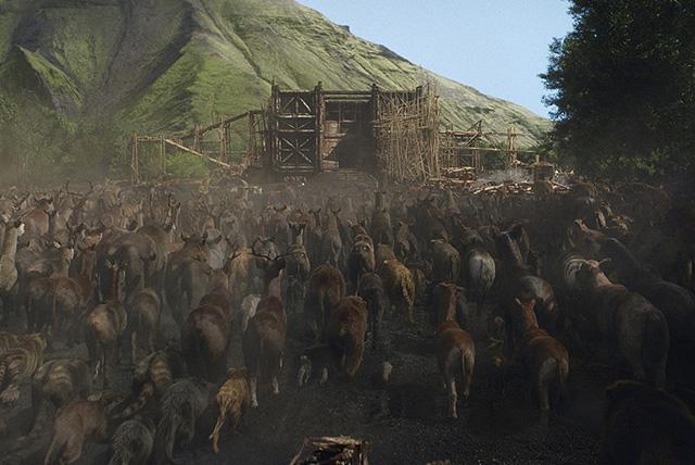 Ezek megépítették Noé bárkájának mérethű mását