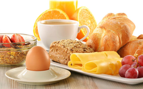 Kiegyensúlyozott reggeli