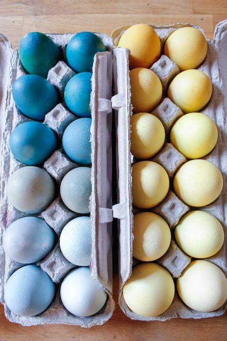 Egyszerű trükk: fess ombre tojást húsvétra!