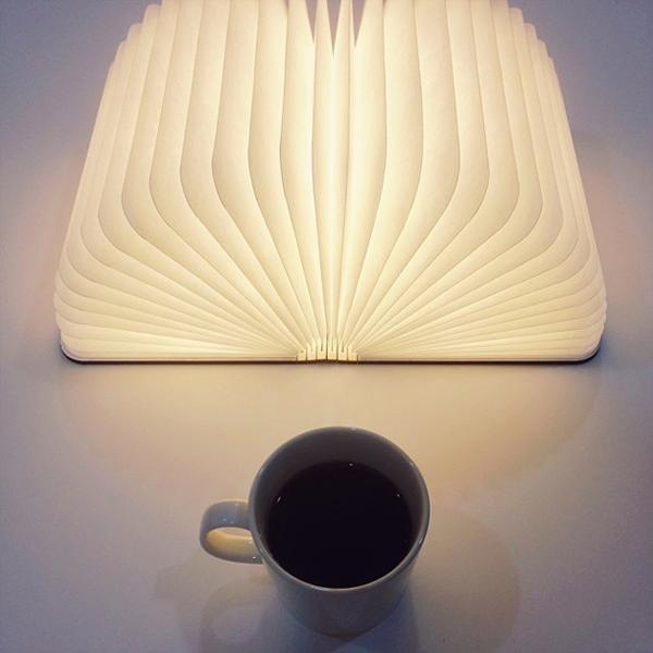 Könyvnek látszik, de valójában hordozható lámpa
