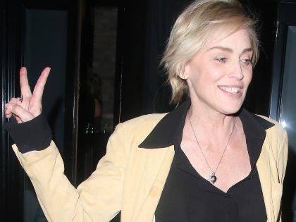 Sharon Stone-on nem fog az idő