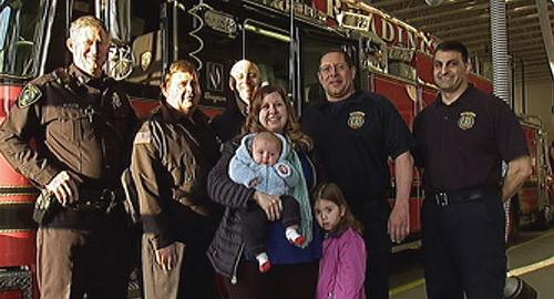 A család és a tűzoltócsapat