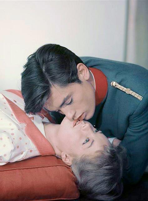 Romy és Alain a Christine c. filmben