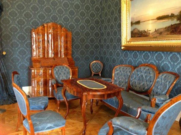 A Sándor-palota belülről
