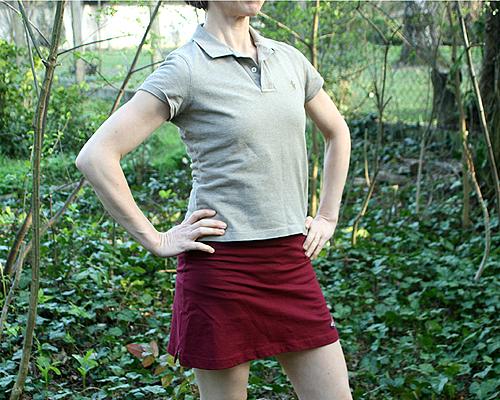 058164f1a6 Szoknya-nadrág – Angex, Ralph Lauren póló – Háda