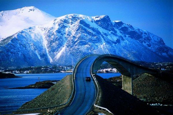 Varázslatos autóút az Atlanti-óceánon - elképesztő képek