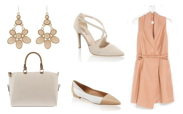 Ruha: Mango, cipők: Humanic, táska, fülbevaló: Parfois