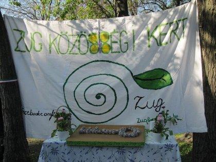 Megnyílt Zugló első közösségi kertje