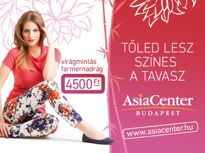 Tavaszi virágbontás az AsiaCenterben