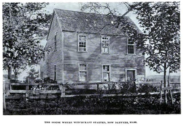 A ház ahol a boszorkányüldözés elkezdődött