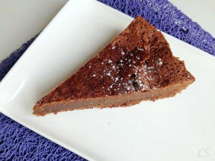 Fondant au chocolat - csokis süti glutén- és lisztmentesen, nyírfacukorral