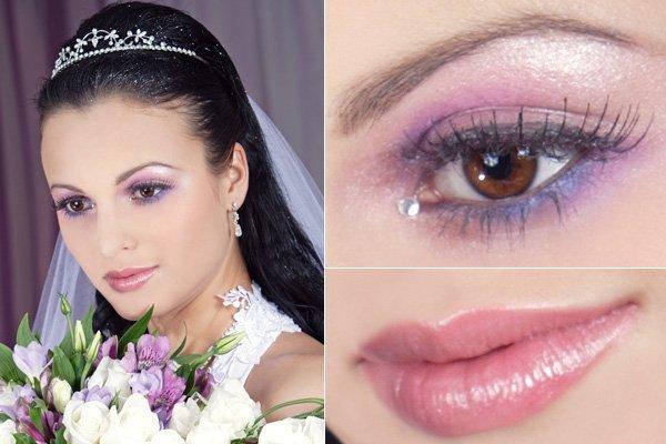 Esküvő lilában
