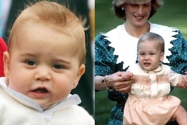 Apja fia! Ennyire hasonlít Vilmos hercegre a fia - fotó
