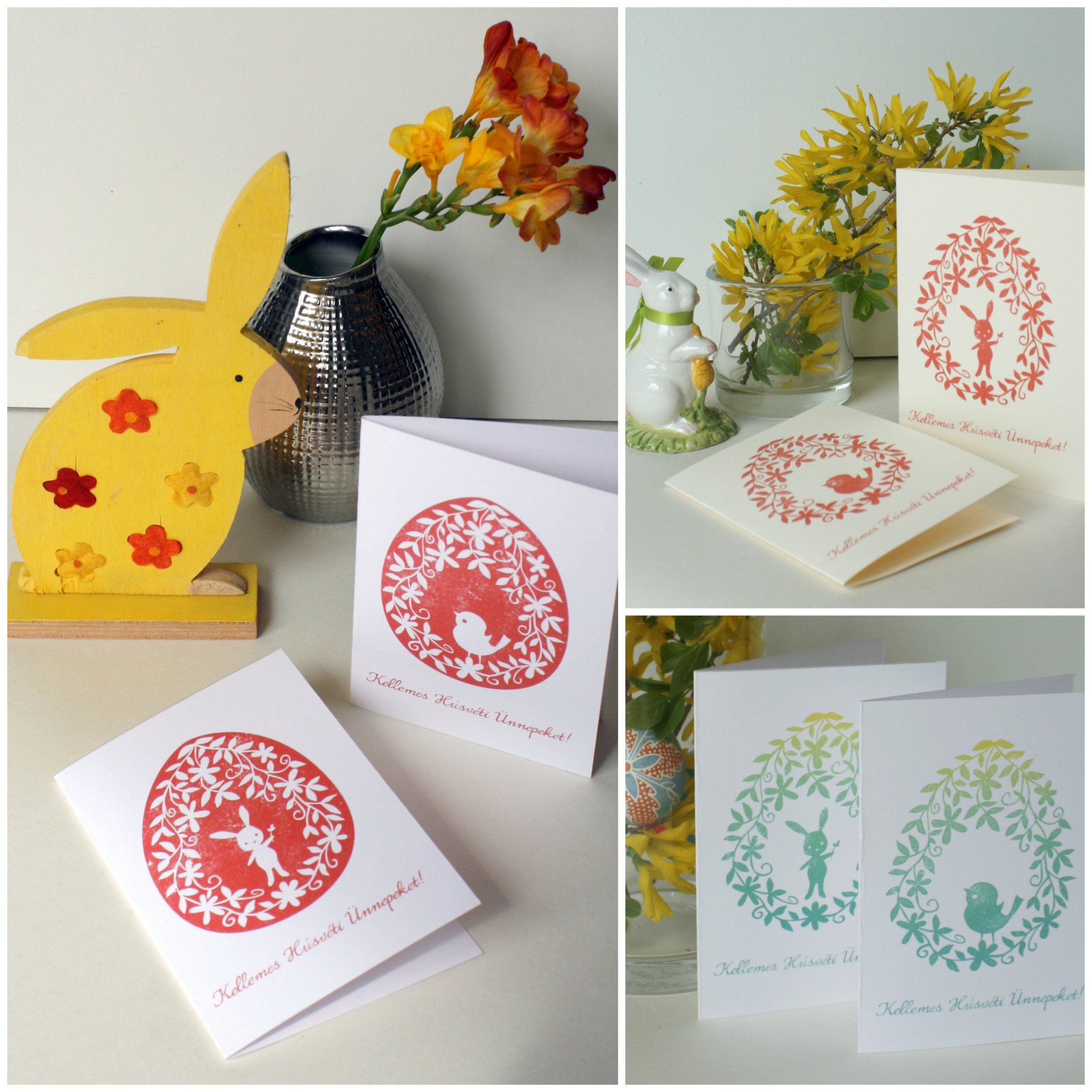 Húsvéti képeslapok, amiket csak ki kell nyomtatni