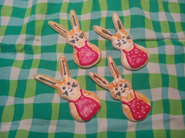 Festett kekszek húsvétra