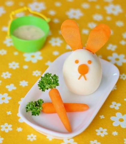 Kedves, cuki reggelik Húsvétra gyerekeknek