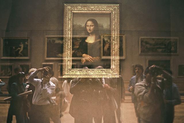 A Mona Lisa a párizsi Louvreban