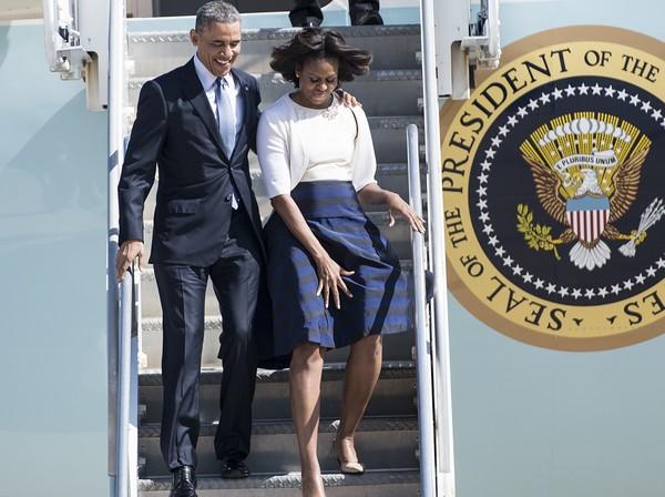 Kis híján nagyot villantott Michelle Obama