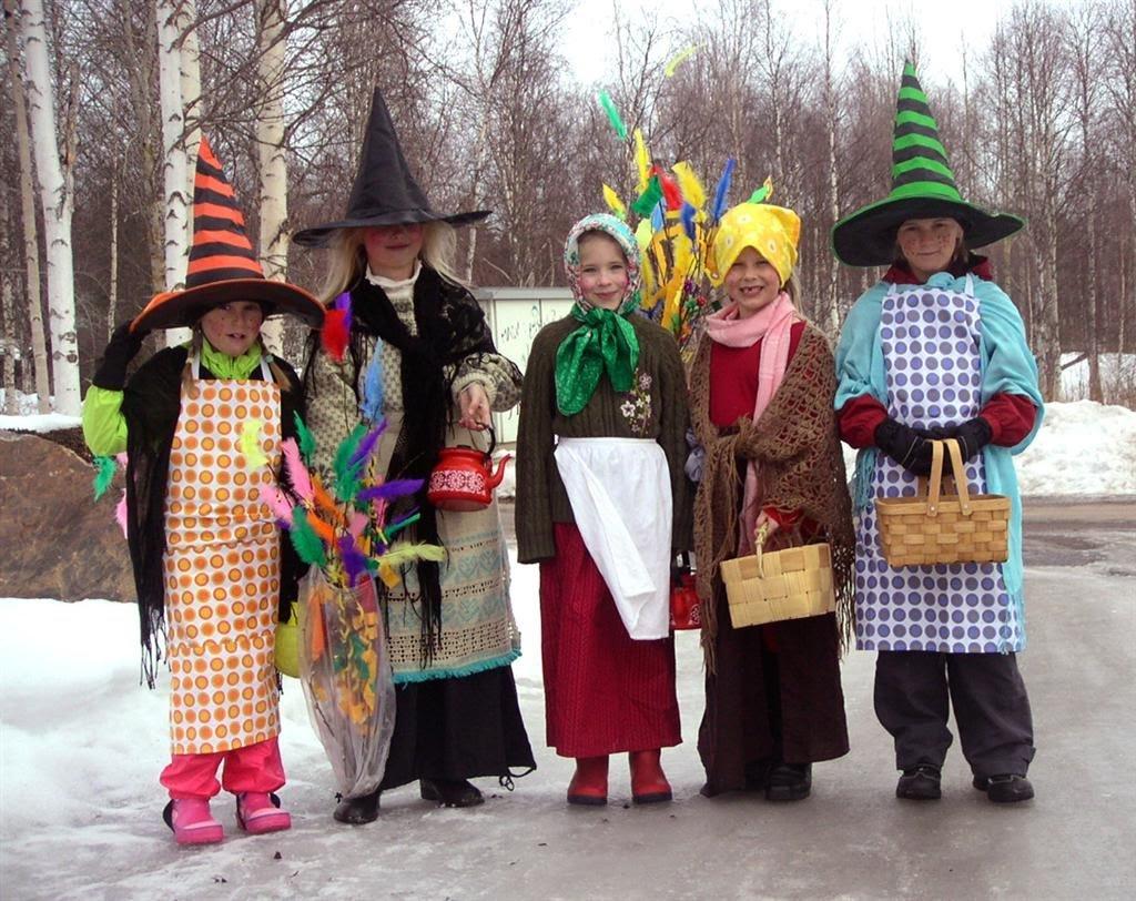 Finnországban húsvéti boszorkányok járnak