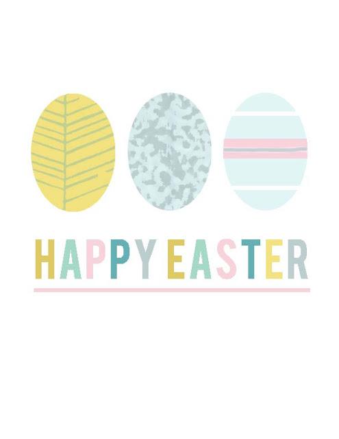 Az utolsó pillanatban: nyomtatható dekorok húsvétra