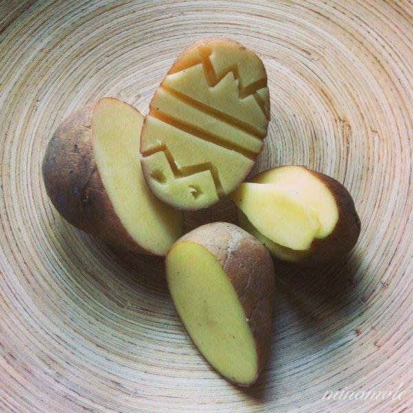 Olcsó játék: húsvéti krumplinyomda