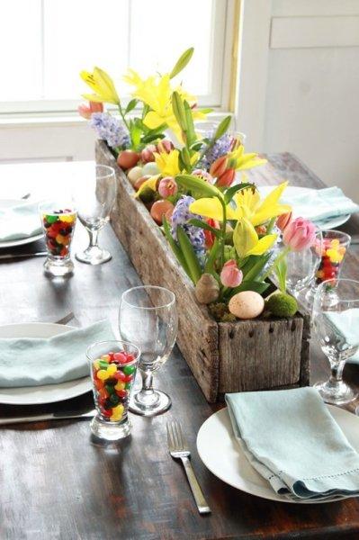 Húsvéti dekor természetes alapanyagokból