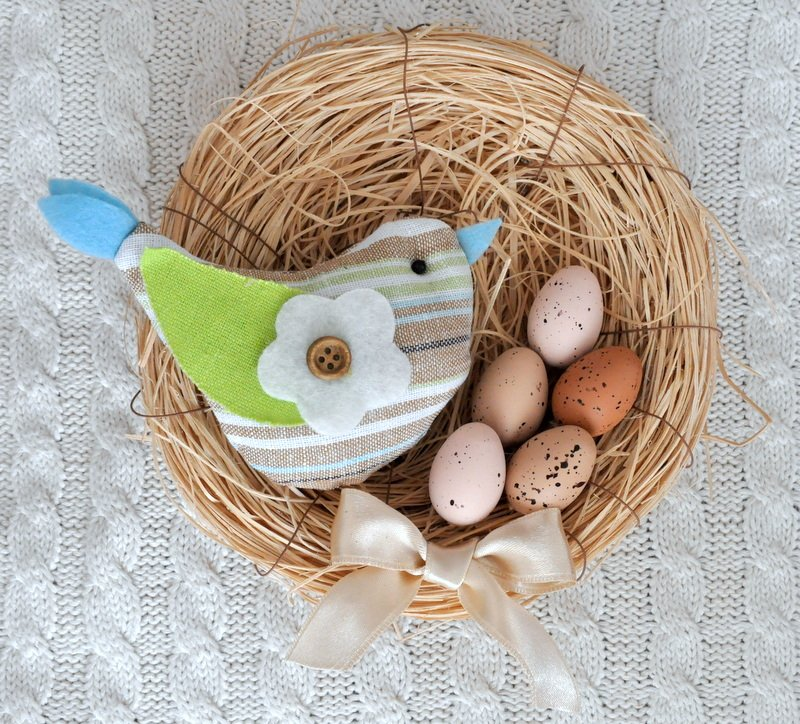 Húsvéti ajtódísz kezdőknek
