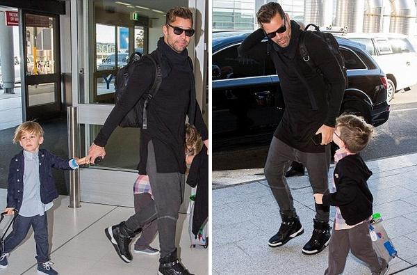 Szupercuki fotók Ricky Martin divatdiktátor ikreiről