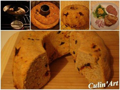Aszalt paradicsomos-olívás kenyér