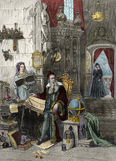 Nostradamus és Medici Katalin