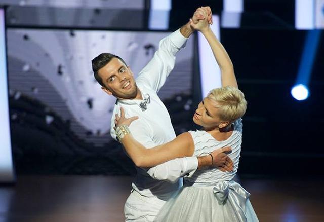 Máté kriszta és Orosz József (Fotó: RTL Klub)