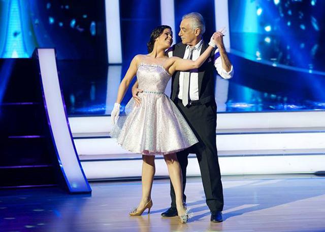 Südi Iringó és Heilig Gábor (Fotó: RTL Klub)
