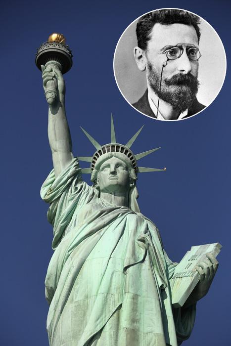 A Szabadság szobor és Pulitzer József