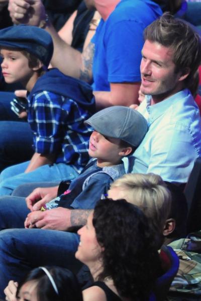 39 éves David Beckham, a világ legszexibb htb apukája - fotók