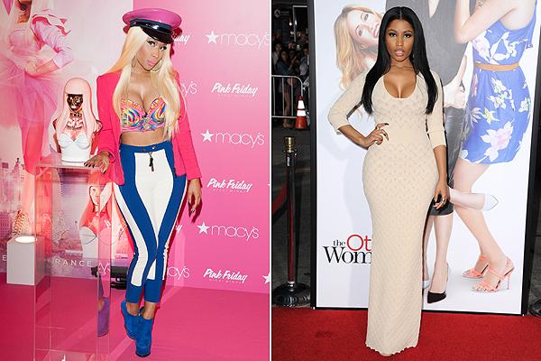 Nicki Minaj, a makeunder előtt és után