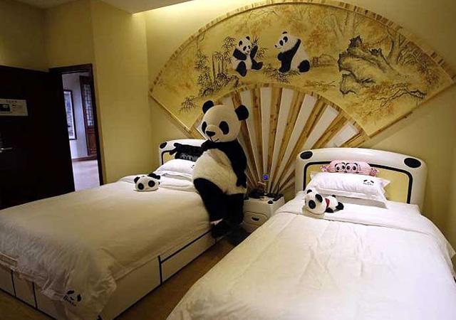 Megnyílik a világ első pandás hotelje