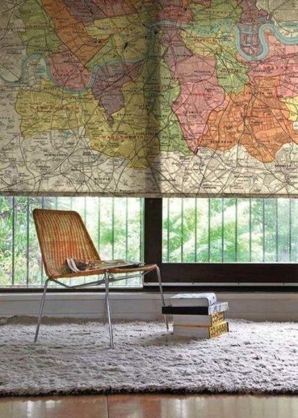 Dekorippek: így hasznosítsd újra a régi térképet!
