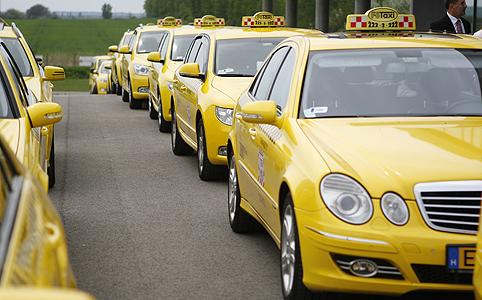 Taxit gombnyomásra