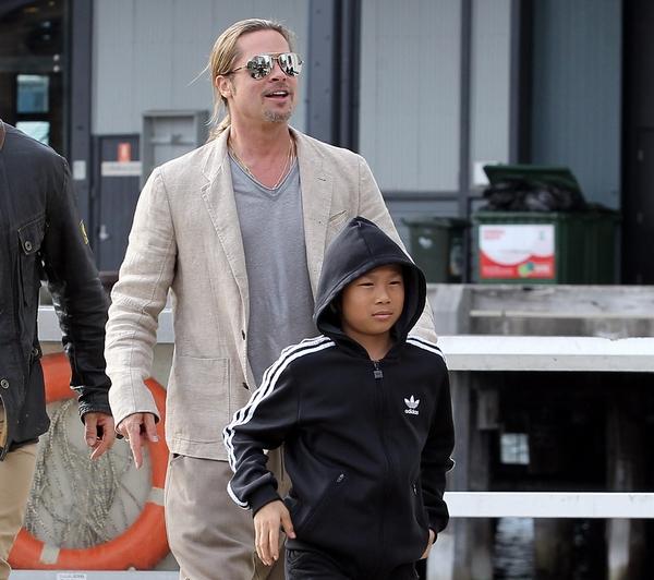 Rengeteget költött Bieberre Brad Pitt