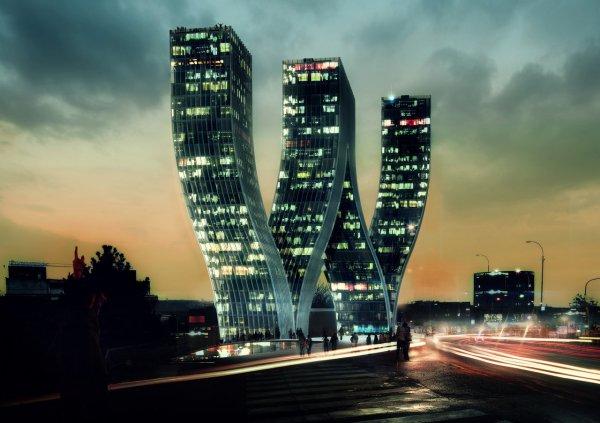 Elképesztő, lenyűgöző toronyépületek