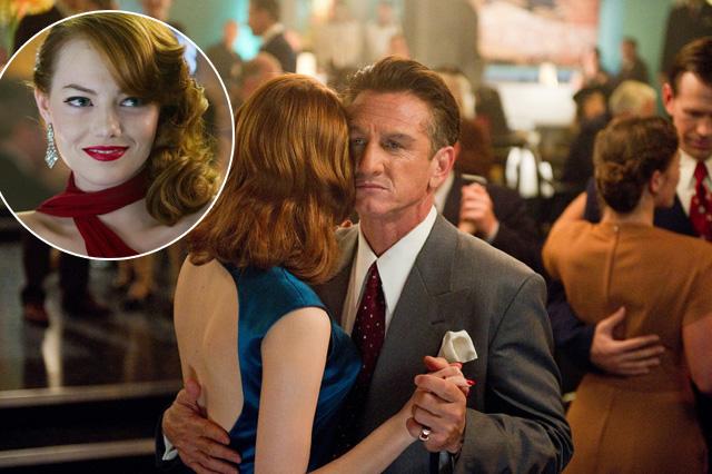 Emma Stone és Sean Penn
