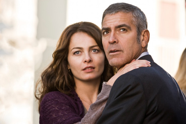 Violante Placido és George Clooney