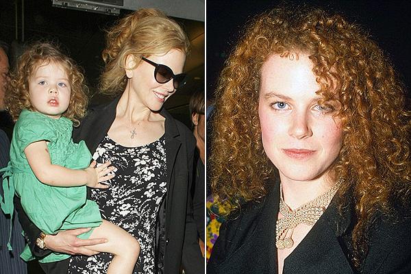 Nicole Kidman kislánya az anyukája kicsinyített mása