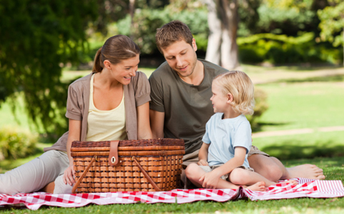 Családi piknik