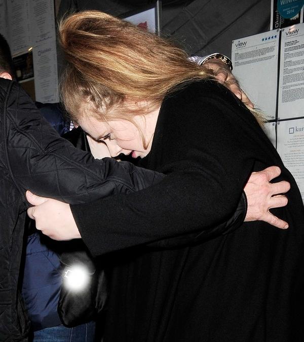 Becsípve ünnepelte szülinapját Adele